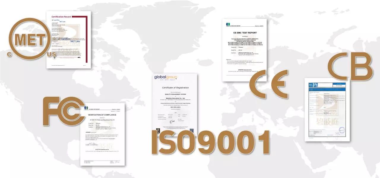 патенты сертификаты биботинг